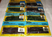 80 Count Asst Berkley 6 And 7 Power Bait Worms N.i.b.