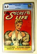 My Secret Life 19 Charlton August 1957 Cgc 6.0 And White Pages A First Issue