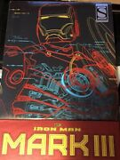 Hot Toys Iron Man Mark 3 Exclusive Version Mms256d07 Diecast 1/6 Scale Figure