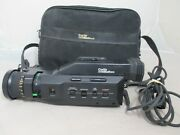 Curtis Mathes Vintage Color Video Camcorder Model Mc762 Untested Parts With Bag
