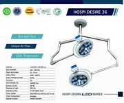 New Round Surgical Operation Light For Ot Double Dome Ceiling Examination Light