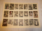 Vintage Victorian Real Photo Postcards Of Children At Christmas X21
