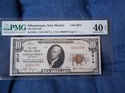 1929 10 Albuquerque New Mexico Nm National Currency T1 2614 1st Natl Bank