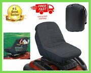 Cub Cadet Universal Lawn Mower Craftsman Garden Tractor Cushioned Seat Cover New