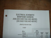 Bobcat A300 Skid Steer Electrical Wiring Diagram Schematic Manual 539911042 Up