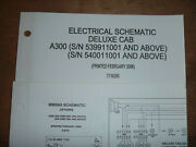 Bobcat A300 Skid Steer Electrical Wiring Diagram Schematic Manual 539911001 Up