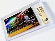 """2016 Topps Chrome Mike Trout """"perspectives"""" Bgs 10 Pristine .5 From Black Label"""