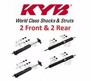 Set Of 4kyb Excel-g Front And Rear Shock Absorbers For Ford Mustang 64 65 66 68 70