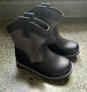 Toddler Boys Black Cowboys Boot Size 11 Cat And Jack Hunter