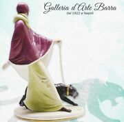 Capodimonte Porcelain Lady With Panther Series Liberty Collection Elite