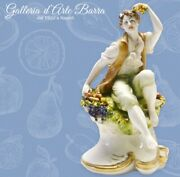Capodimonte Porcelain, Baby With Fruit