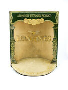 Longines Gold Medals Presentation Display Advertising For Retailers 40and039s