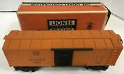 Vintage Lionel Trains 3464 A.t And Santa Fe 63132 Box Car In Box Free Shipping
