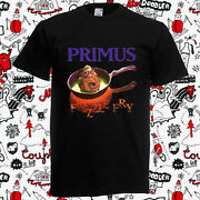 Primus Frizzle Fry Menand039s Black T-shirt Size S To 3xl