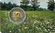 Latvia 2 Euro 2016 Commemorative Coin - Agricultural Industry - Coincard