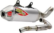 Pro Circuit T-6 Stainless Exhaust System Husqvarna Fc450 Fits 2017 To 2018