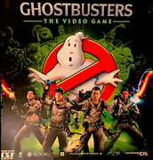 Ghostbusters The Video Game Promo Pvc Poster 24 X 24 2009 Ps3 Xbox 360 Wii Vg+