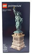 Lego ® - Architecture Statue Of Liberty 21042 - New Sealed