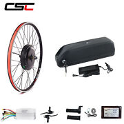 E Bike Conversion Motor Kit With Battery Pack 26inch 48v 1500w Electric Bicycle