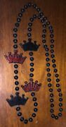 Budweiser Select Red Crown Parade Beads