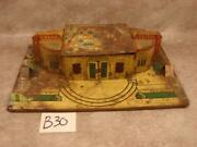 B30b Vintage Marx O Scale Grand Central Station Train Railroad As Is