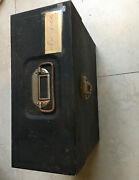 Vintage File Chest Union Steel Chest Corp. Leroy N.y Made In Usa