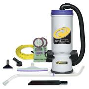 Proteam Backpack Vacuum Cleaner 120-volt Telescoping Wand Tool Adjustable Bag