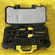 Apollo 341349 Pex Crimp Tool Kit With 3/8 In. 1/2 In. 3/4 In. And 1 In. Crim