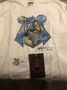 King Saladeen T Shirt Hand Painted And Signed 31 Of 50