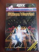 Silicon Warrior Disk By Epyx For Commodore 64 C64 Open Bo New Old Stock Free Dhl