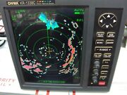 Onwa Kr-1338c Color Lcd Marine Radar Display / With Ais Function. Used Working