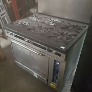 Commercial Range And Conventional Oven
