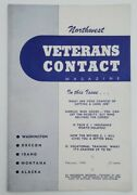 1946 Veterans Contact Magazine Real Information For Wwii Military Veterans