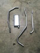 1940 Chevy Hardtop Complete Single 6 Cylinder Factory Correct Exhaust System