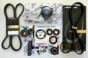 Aisin W/p And Timing Belt Kit W/serpentine Belttensioner For Mdx / Tl/ Rl / Zdx