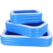 Inflatable Swimming Pools Above Ground Rectangular Thickened Garden Pool Kids Us