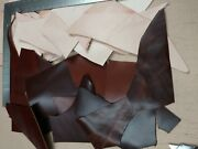 Scrap Leather Cow Hide And Dry 5 To 9 Oz. Mixed Color Tooling 2 Lb/ 4 Lb/ 6 Lb