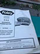 Saw Set Automtic Power Tool By Foley.