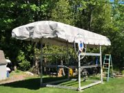 Shore Station Boat Lift Canopy 28106 Frame Not Included.andnbsp