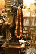 Huge Amberand039/copal Antique African Trade Beads Of Adornment Necklace 850 G.