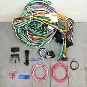1933 - 1936 Terraplane Wire Harness Upgrade Kit Fits Painless New Fuse Block Kic