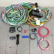 1936 Nash Lafayette Wire Harness Upgrade Kit Fits Painless Terminal New Fuse Kic