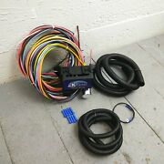 1961 - 1966 Ford Truck Econoline 8 Circuit Wire Harness Fits Painless Fuse Kic
