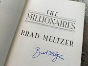 Signed - The Millionaires By Brad Meltzer 2002, Hardcover