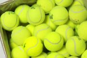200 Used Tennis Balls Ships Today Support Recycleballs Non-profit