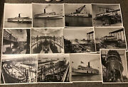 Ss Southland- Norfolk And Washington Steamboat Co Cruise Ship Ferry Boat Photo Lot