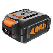Worx Wa3578 20v Maxlithium 4.0 Ah Battery For Trimmer Hedge Trimmer Blower