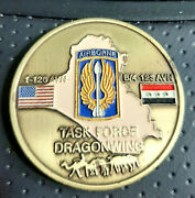 Task Force Dragonwing Challenge Coin Oif Iii Operation Iraqi Freedom Airborne
