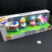 New Hasbro Weebles Friends On The Go