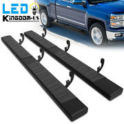 Running Boards For 07-18 Silverado/sierra 1500 Double/extended Cab 6 Step Bars